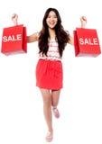 Seasonal sale started! Stock Photos