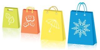 Seasonal sales concept Stock Images