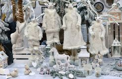 Seasonal shop window Royalty Free Stock Photos