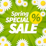 Seasonal special spring sales business background Royalty Free Stock Photo