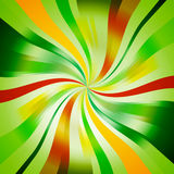 Seasonal Spiral Background. Abstract Green Seasonal Spiral Background Stock Image