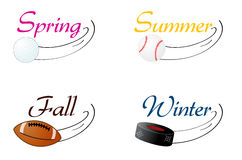 Seasonal Sports Stock Photography