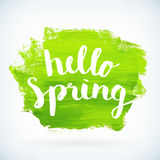 Seasonal spring sales begins business adverisement background Stock Photos