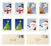 Seasonal Stamps Royalty Free Stock Photos