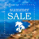 Seasonal Summer Sale Royalty Free Stock Photography