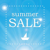 Seasonal Summer Sale Royalty Free Stock Photo