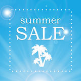Seasonal Summer Sale Stock Photo
