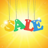 Seasonal Summer Sale Stock Photography