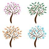 Seasonal tree Stock Images