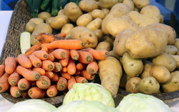 Seasonal vegetables just farmer's Garden collection Stock Photography