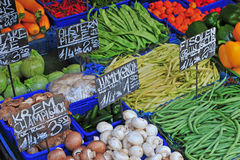 Seasonal vegetables Royalty Free Stock Images