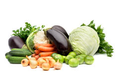 Seasonal vegetables Royalty Free Stock Image
