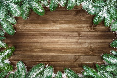 Seasonal wood background Stock Photography
