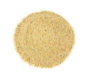 Seasoned bread crumbs Stock Image