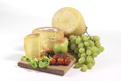 Seasoned cheese Stock Photography