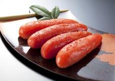 Seasoned cod roe Stock Photography