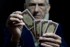 Seasoned Gambler Stock Photo