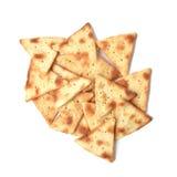 Seasoned pita chips Royalty Free Stock Photo