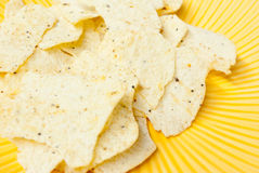 Seasoned Potato Chips Stock Images