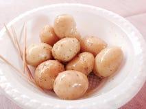 Seasoned potatoes Royalty Free Stock Photo