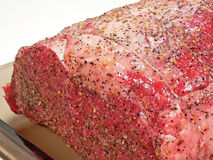 A seasoned Prime Rib Royalty Free Stock Photo