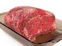 A seasoned Prime Rib Stock Image