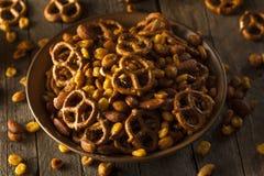 Seasoned Pub Snack Mix Royalty Free Stock Images