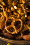 Seasoned Pub Snack Mix Stock Photos