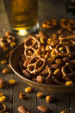 Seasoned Pub Snack Mix Royalty Free Stock Images