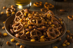 Seasoned Pub Snack Mix Royalty Free Stock Photos