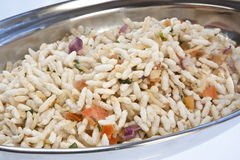 Seasoned Puffed Rice Stock Photo