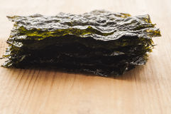 Seasoned seaweed Royalty Free Stock Image