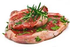 Seasoned Steak Royalty Free Stock Photography