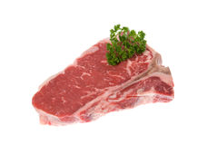 Seasoned steak Royalty Free Stock Images