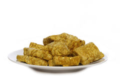 Seasoned tempe Royalty Free Stock Photos