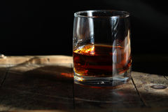 Seasoned Whiskey Royalty Free Stock Images