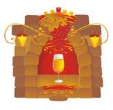 Seasoned wine Stock Images