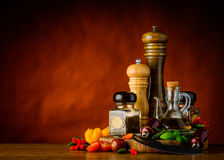 Seasoning, Herbs and Spices Stock Photos