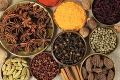 Seasoning ingredients Royalty Free Stock Photography