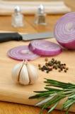 Seasoning ingredients Royalty Free Stock Photos