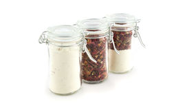 Seasoning in a jar Stock Image