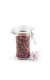 Seasoning in a jar Royalty Free Stock Photo