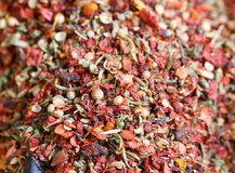 Seasoning with red pepper Royalty Free Stock Image