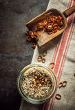 Seasoning and rub for flavoring fish and meat Royalty Free Stock Photos