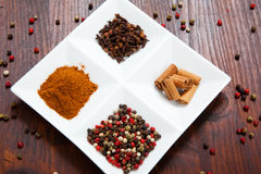 Seasoning spices Stock Photos