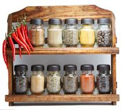 Seasonings Stock Photography