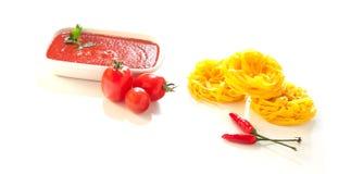 Seasonings for the sauce stock photos