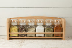 Seasonings and Spices Stock Images
