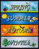 Seasons Royalty Free Stock Photos