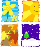 Seasons Stock Photography
